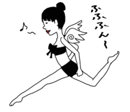 yurusuta(yoga/Daily conversation ver.) sticker #380582