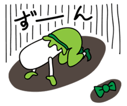 Leek-chan sticker #380836