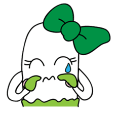 Leek-chan sticker #380853