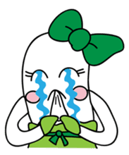 Leek-chan sticker #380854