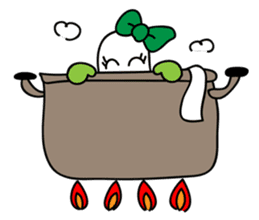 Leek-chan sticker #380861