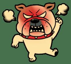 Mr.Bulldog sticker #380989