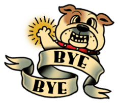 Mr.Bulldog sticker #380990