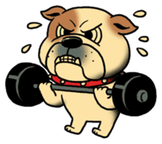 Mr.Bulldog sticker #380998