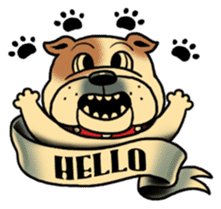 Mr.Bulldog sticker #381000