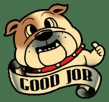 Mr.Bulldog sticker #381002