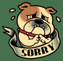 Mr.Bulldog sticker #381004