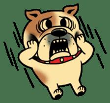 Mr.Bulldog sticker #381006
