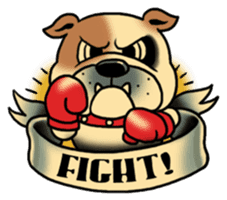 Mr.Bulldog sticker #381007