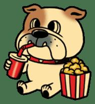 Mr.Bulldog sticker #381010