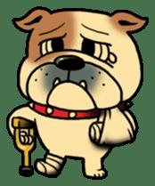 Mr.Bulldog sticker #381013