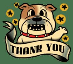 Mr.Bulldog sticker #381014