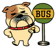 Mr.Bulldog sticker #381016