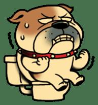 Mr.Bulldog sticker #381017