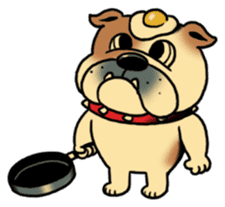 Mr.Bulldog sticker #381020