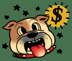 Mr.Bulldog sticker #381023
