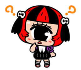 Cyclops Girl Lopco sticker #381160