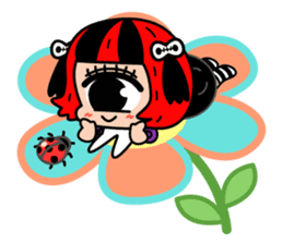 Cyclops Girl Lopco sticker #381183
