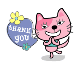 Lucky and Leo the cutie cats sticker #381708