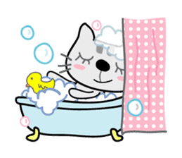 Lucky and Leo the cutie cats sticker #381722