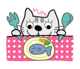 Lucky and Leo the cutie cats sticker #381723