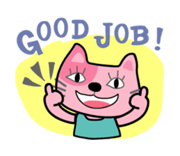 Lucky and Leo the cutie cats sticker #381741