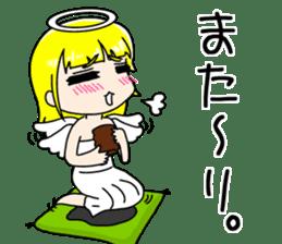 Lovely Otaku Angel sticker #382706
