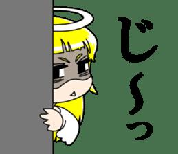 Lovely Otaku Angel sticker #382710