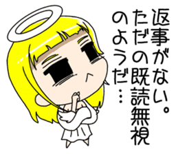 Lovely Otaku Angel sticker #382716