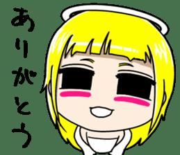 Lovely Otaku Angel sticker #382719