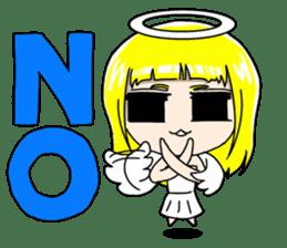 Lovely Otaku Angel sticker #382727