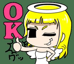 Lovely Otaku Angel sticker #382729