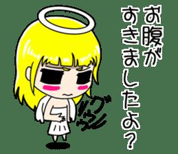 Lovely Otaku Angel sticker #382738