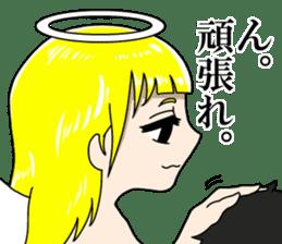 Lovely Otaku Angel sticker #382744