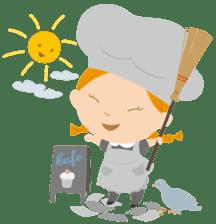Petit Chou et Creme sticker #383185