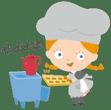 Petit Chou et Creme sticker #383187
