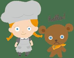 Petit Chou et Creme sticker #383188