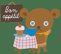 Petit Chou et Creme sticker #383206