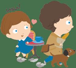 Petit Chou et Creme sticker #383211