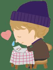 Petit Chou et Creme sticker #383214