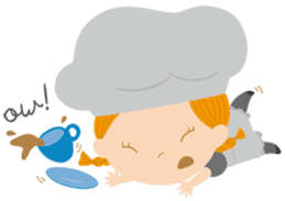 Petit Chou et Creme sticker #383215
