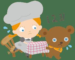 Petit Chou et Creme sticker #383221