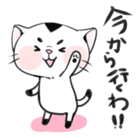 Cat in Osaka sticker #383385