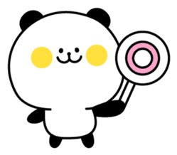 Pan-Pan Panda sticker #384656
