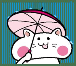 Life of pretty cat Toromi and  Kyubee. sticker #384870