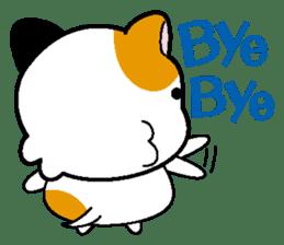 Life of pretty cat Toromi and  Kyubee. sticker #384889