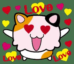 Life of pretty cat Toromi and  Kyubee. sticker #384893