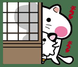 Life of pretty cat Toromi and  Kyubee. sticker #384897