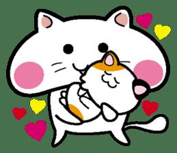 Life of pretty cat Toromi and  Kyubee. sticker #384898