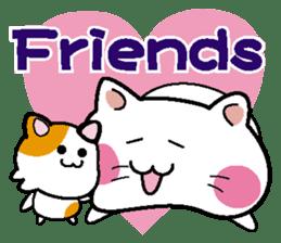 Life of pretty cat Toromi and  Kyubee. sticker #384901